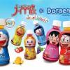 """น้ำผลไม้เคี้ยวได้ """"J-mix"""" รุ่น โดราเอม่อน จัดโปรโมชั่นซื้อ 1 แถม 1 กระตุ้นยอดขายส่งท้ายปี"""