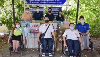 """""""ชลิต อินดัสทรี"""" ร่วมส่งเสริมอาชีพผู้พิการ – สนับสนุนกิจกรรม ต่อลมหายใจให้น้องได้ท้องอิ่ม มอบข้าวสารและอาหารฯช่วงวิกฤติโควิด"""
