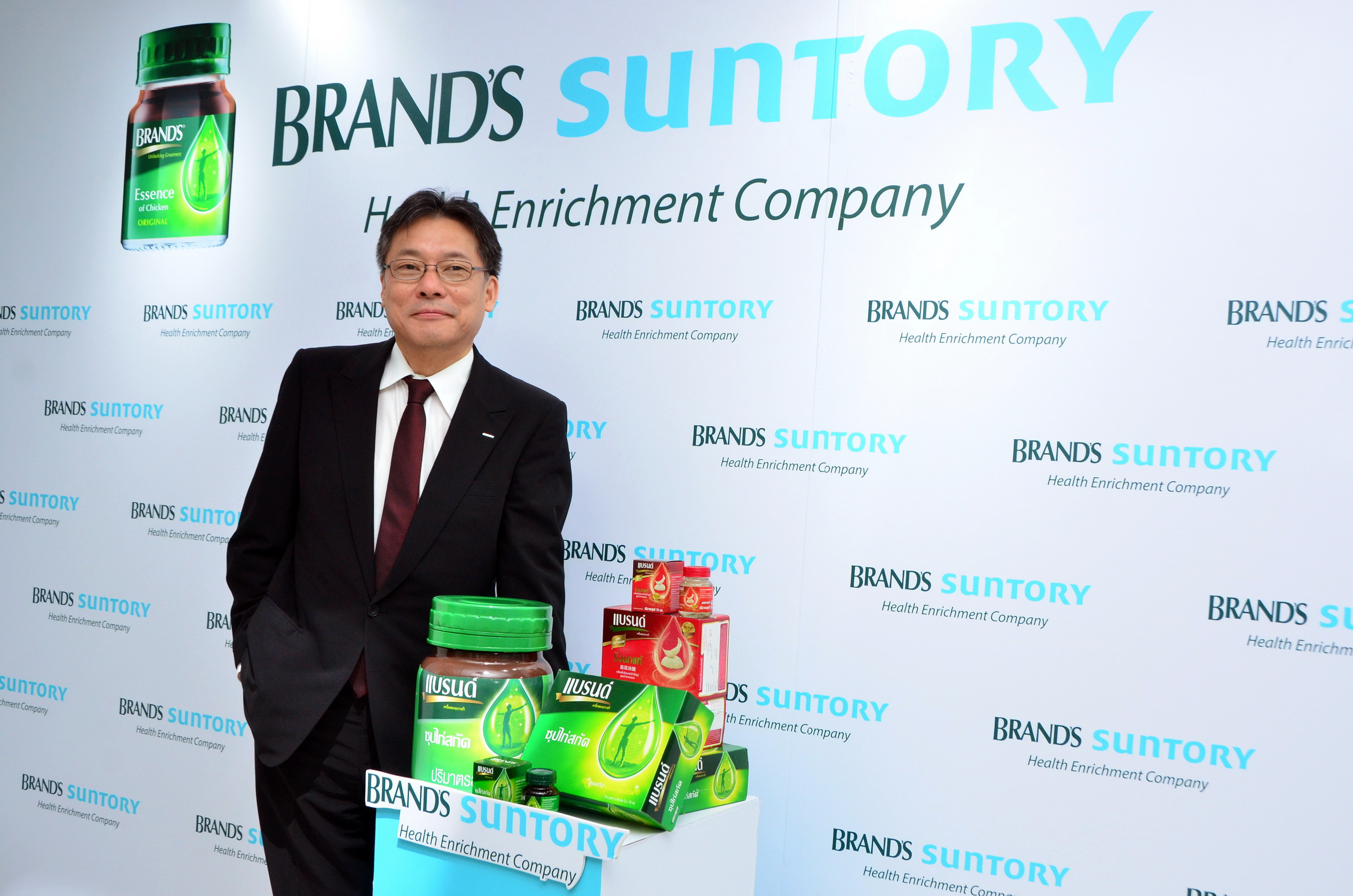 Mr Gen Saito, Chief Executive Officer, BRAND'S Suntory International-05