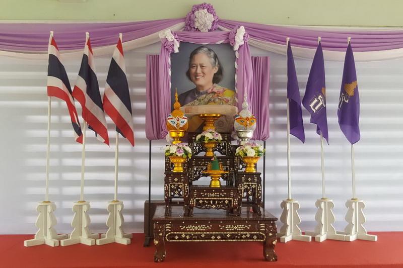 สมเด็จพระกนิษฐาธิราชเจ้า ฯ พระราชทานผ้าไต_resize